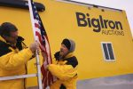 BigIron Team Members prepare for an auction.