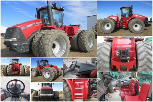 Case Steiger sold on BigIron Auctions
